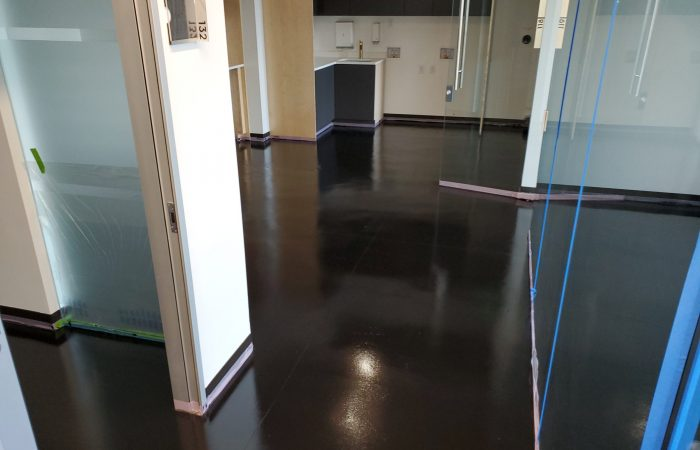 Fluid Applied Floor System