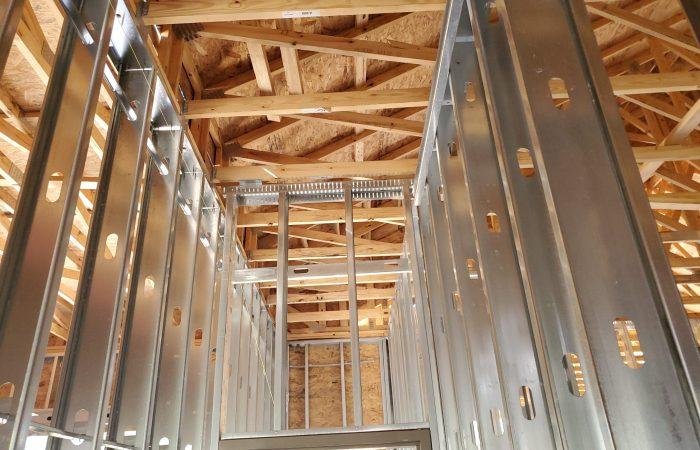 Metal Stud and Wood Framing